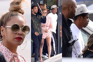 Beyonce i Jay-Z w Polsce! Gwiazda chyba trochę zmarzła... (ZDJĘCIA)