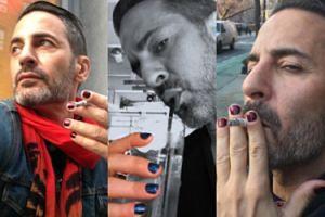 Marc Jacobs promuje nowy trend: męskie kolorowe paznokcie! (FOTO)