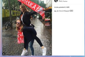 Iga i Pola Lis w Paryżu