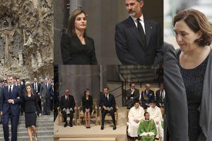 Król Filip i Królowa Letycja modlą się za ofiary zamachu w Barcelonie (ZDJĘCIA)