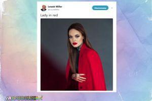 """Leszek Miller chwali się wnuczką: """"Lady in red"""""""