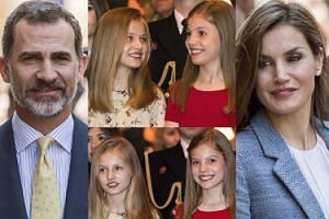 Nie tylko Windsorowie: król Filip z królową Letycją i słodkimi córkami na Majorce (ZDJĘCIA)