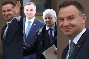 PRZESZCZĘŚLIWY Andrzej Duda spotkał się z Kaczyńskim w Belwederze (ZDJĘCIA)