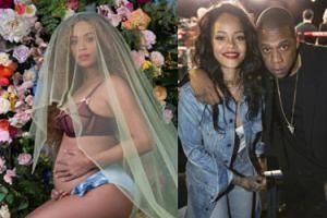 """Rihanna gratuluje Beyonce: """"Jestem podekscytowana! Gratulacje dla mojego """"dużego brata"""", Jaya!"""""""