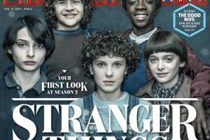"""Dzieciaki ze """"Stranger Things"""" razem na okładce (FOTO)"""