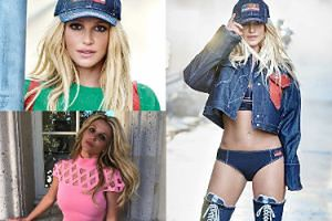 """Nowa twarz Britney Spears reklamuje Kenzo. """"Mistrzostwo photoshopa!"""""""
