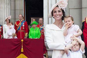 Córka Williama i Kate debiutowała na balkonie pałacu Buckingham! (ZDJĘCIA)