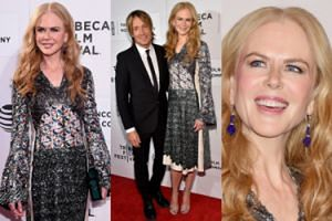 Nicole Kidman z mężem na festiwalu filmowym (ZDJĘCIA)