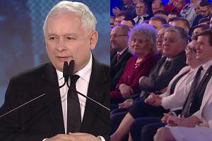 """Kaczyński kpi z sondaży: """"Mamy nowy!"""""""