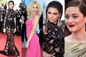 """Kendall Jenner w """"naked dress"""" na czerwonym dywanie w Cannes! (ZDJĘCIA)"""