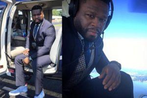 50 Cent lansuje się w śmigłowcu (FOTO)