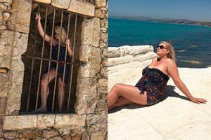Ela Romanowska na wakacjach na Sycylii (FOTO)