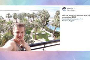 Marcin Mroczek zaczyna tydzień od urlopu (FOTO)