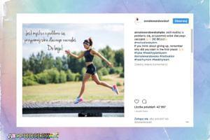 """Ania Lewandowska motywuje w podskokach: """"DO BOJU!"""""""