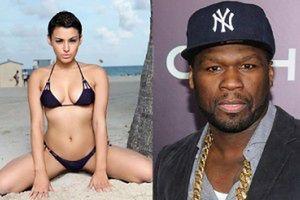 Modelka żąda 11 MILIONÓW od 50 Centa!