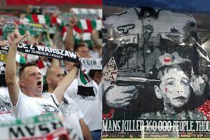 UEFA chce ukarać Legię Warszawa za powstańczą oprawę!