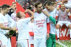 """Tak piłkarze cieszyli się z awansu do Mistrzostw Świata w Rosji. """"Polska dawaj!"""" (ZDJĘCIA)"""