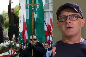"""Poniedziałek ostrzega Polaków: """"Jeżeli będziemy przymykać oko, ONR i hajlowanie stanie się sprawą publiczną!"""""""