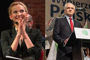 Joanna Moro wspiera... kampanię Gowina! (ZDJĘCIA)
