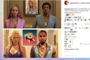Iwona Burnat i Reggie Benjamin jak Beyonce i Jay-Z