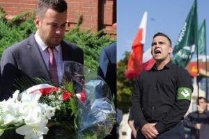 """Prezydent Łomży Z NARODOWCAMI podczas marszu ku czci rocznicy Powstania Warszawskiego! """"Byłem tam prywatnie""""..."""