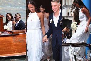 Bastian Schweinsteiger ożenił się z serbską tenisistką! (ZDJĘCIA)