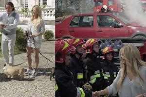 Ogień, straż pożarna i ... buldożki. Tak wyglądał dzień z Majdanami (WIDEO)