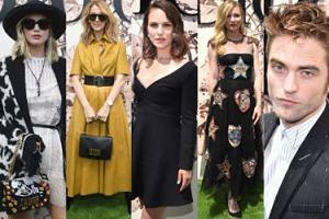 Wystylizowane gwiazdy na pokazie Diora: Jennifer Lawrence, Natalie Portman, Kirsten Dunst... (ZDJĘCIA)