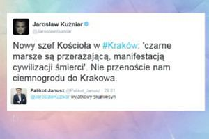 """Palikot o metropolicie krakowskim: """"Wyjątkowy sku..."""""""