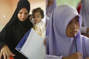 Muzułmańskie małżeństwo wysłało 4-latkę do katolickiej szkoły. Teraz oskarżają dyrekcję o... ISLAMOFOBIĘ i RASIZM!