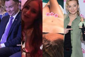 ZDJĘCIA TYGODNIA: Duda podziwia gimnastyczki, naga Ostrowska świętuje Dzień Kobiet, a Mucha tuli kartonowego Biebera... (ZDJĘCIA)