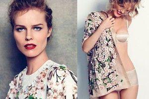 """WIOSENNA Eva Herzigova w """"Harper's Bazaar""""!"""