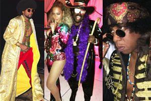 Bal przebierańców na urodzinach Beyonce! (ZDJĘCIA)