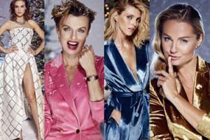 Rubik, Sokołowska, Smutniak i Socha promują świąteczną kolekcję Apartu (ZDJĘCIA)