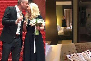 Bujakiewicz pojechała w podróż poślubną do... Kołobrzegu (FOTO)