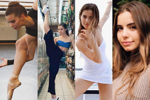 """21-letnia baletnica chce zostać nową """"instagirl""""! Prześcignie popularnością szafiarki? (ZDJĘCIA)"""