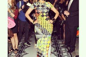 Nicki Minaj w kreacji Versace!