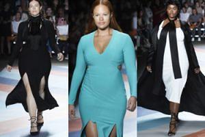 Modelki plus size na wybiegu w Nowym Jorku! (ZDJĘCIA)