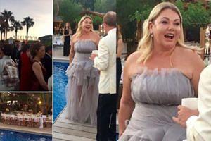 Niezgoda CAŁA W FALBANKACH bawi się na luksusowym balu we Francji! (FOTO)