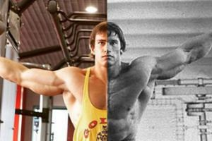 Rosyjski kulturysta sobowtórem młodego Schwarzeneggera (GALERIA)