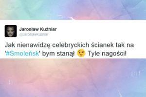 """Kuźniar: """"Jak nienawidzę celebryckich ścianek tak na """"Smoleńsk"""" bym stanął"""""""