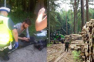 """Operator Polsat News pobity w Puszczy Białowieskiej! """"Zabrano mu i zniszczono kamerę, następnie sprzęt zwrócono, bez kart pamięci"""""""