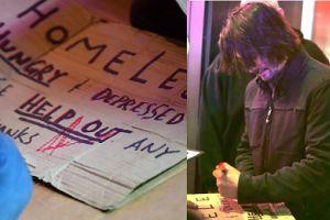 Keanu Reeves pomógł bezdomnemu błagającemu o drobne na nowojorskiej ulicy