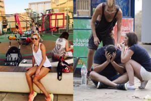 """Łukomska-Pyżalska """"przeżywa"""" zamach na placu zabaw w Barcelonie: """"W Katalonii życie płynie normalnie"""" (FOTO)"""