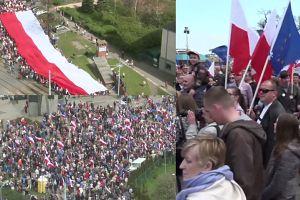 """""""Marsz Wkurzonych"""" zwolenników KOD w Gdańsku"""