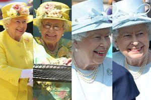 """Królowa Elżbieta II bawi się na """"garden party"""" i kibicuje w wyścigach konnych (ZDJĘCIA)"""