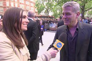 """Clooney: """"Nic mi nie przychodzi do głowy, gdy słyszę Polska"""""""