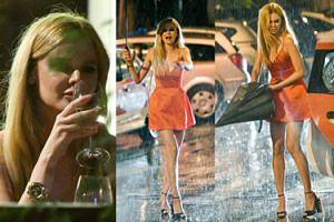 Alicja Ruchała wino popijała i przed deszczem uciekała (ZDJĘCIA)