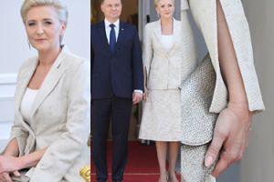 Eleganccy Dudowie na spotkaniu z czeską parą prezydencką (ZDJĘCIA)