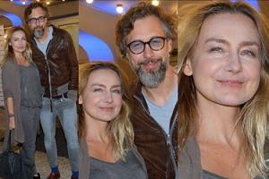Szymon Majewski z żoną na premierze w teatrze (ZDJĘCIA)
